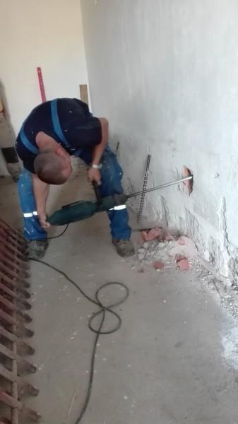 prevrtanie steny na nový kanál